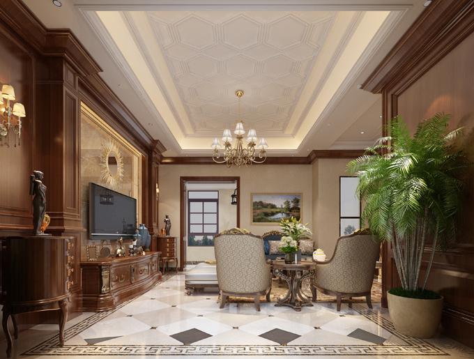 嘉和城别墅美式风格