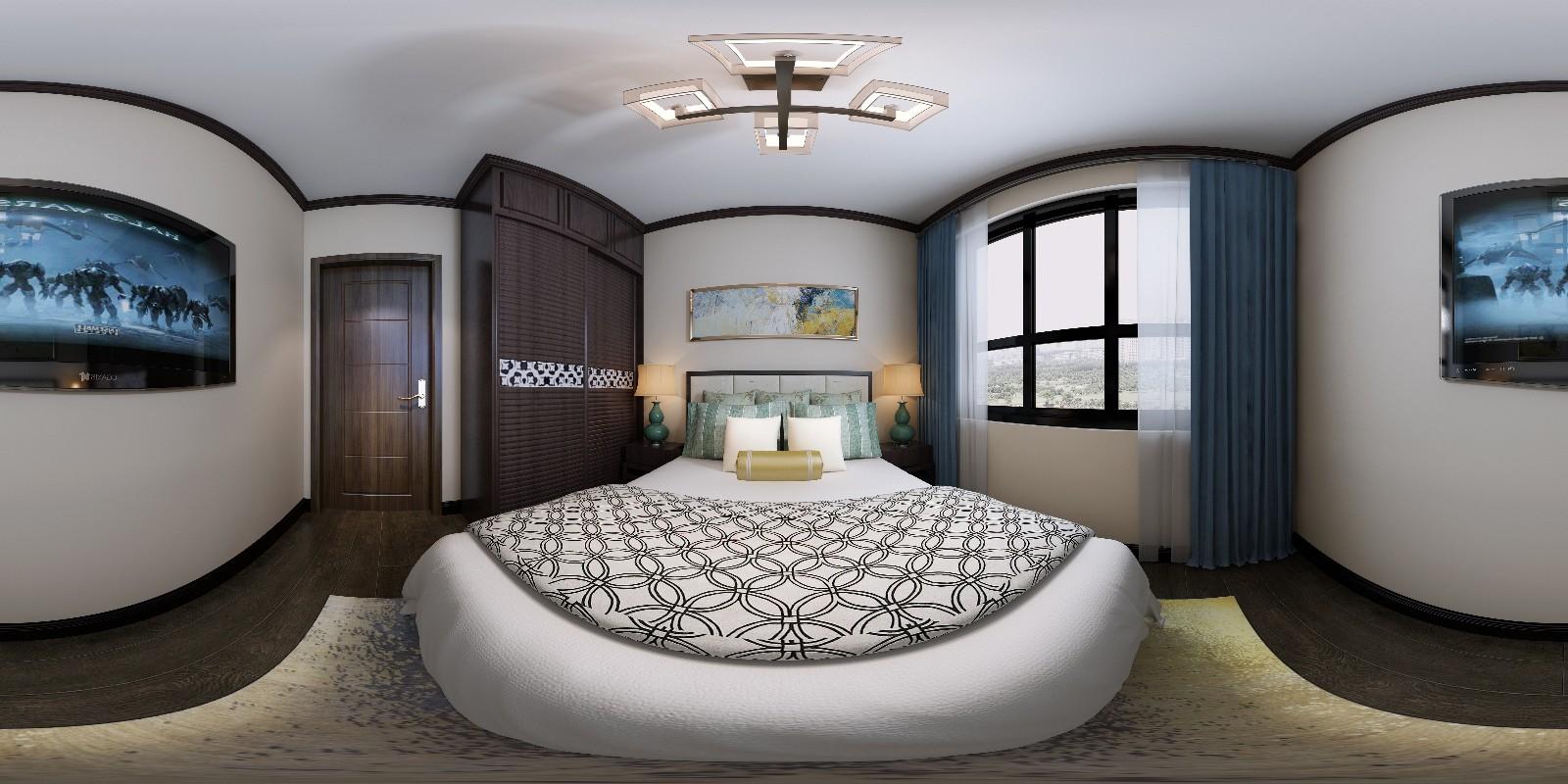布洛可105平米新中式风格