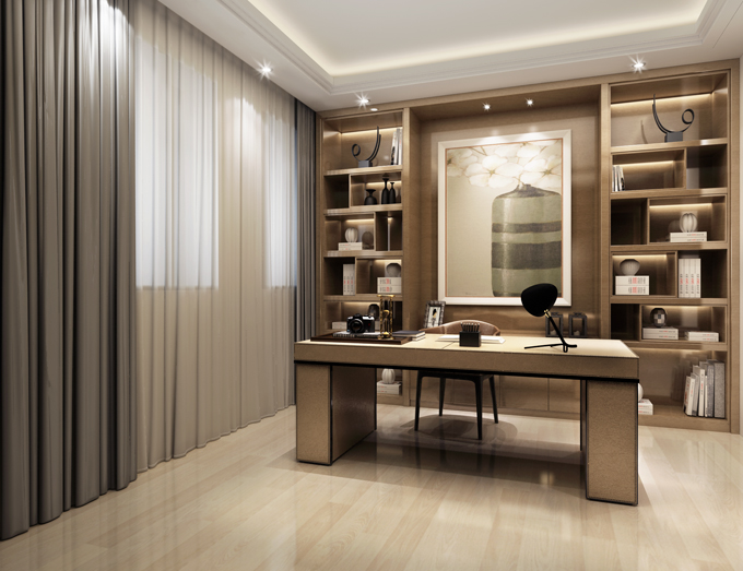 崇左3层别墅后现代设计风格